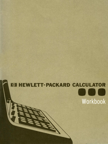 HP 9100A Workbook